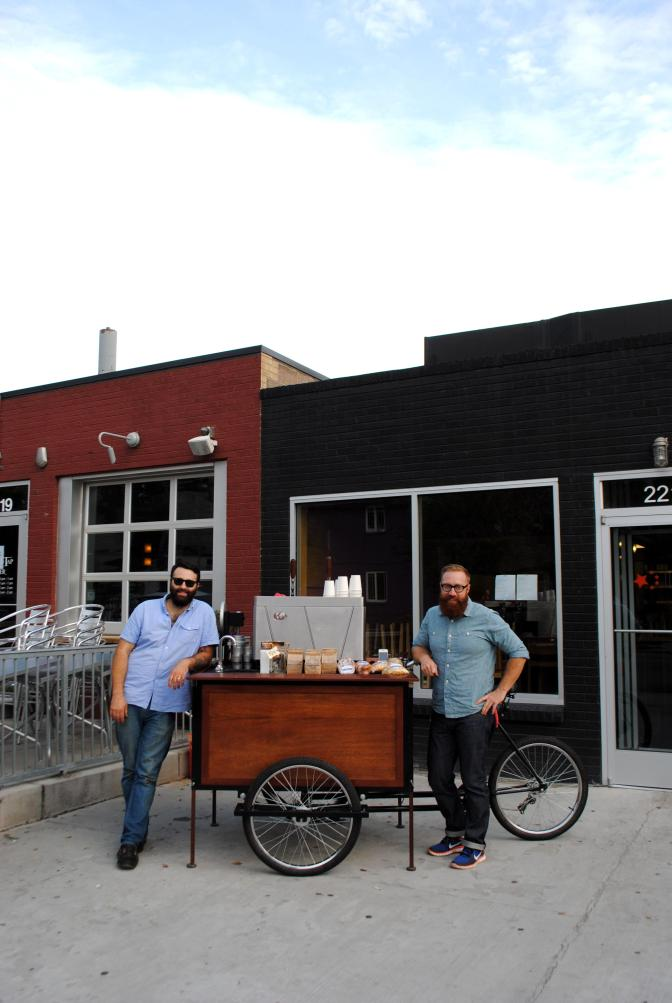 Owners of Commonwealth Coffee, Denver, CO