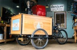 Exclusive:  TOMS coffee now available on an Oak Cliff CargoBicycle!