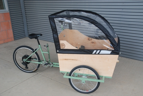 The Bonnie Wagon w/ electric kit and canopy
